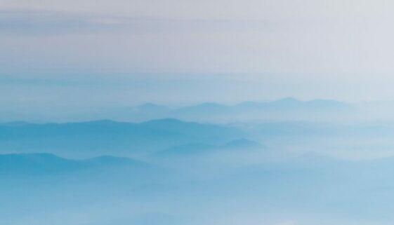 über den Wolken (stilisiert)