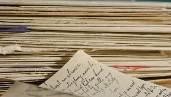 Alte Briefe und Notizen